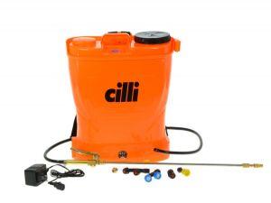 Pompa a zaino elettrica a batteria 16 lt irrorazione elettropompa di Cilli