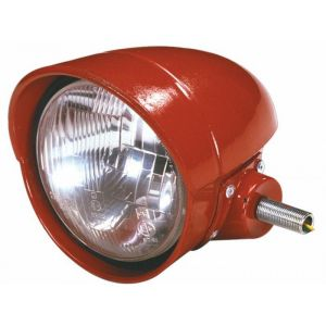 Fanale anteriore sx rosso a 3 luci per trattori fiat-om