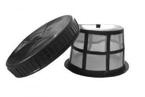 Tappo e cestino anti impurità per pompa irrorazione 16 lt Cilli art. 3000040