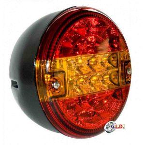 Fanale posteriore dx al led 3 luci ø 140mm