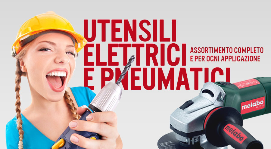 Utensili Pneumatici ed elettrici online