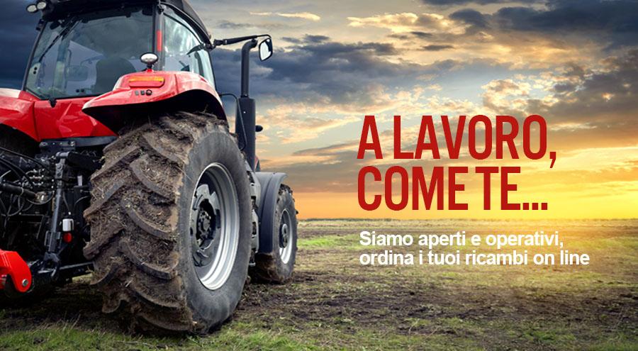Articoli e ricambi per l'agricoltura